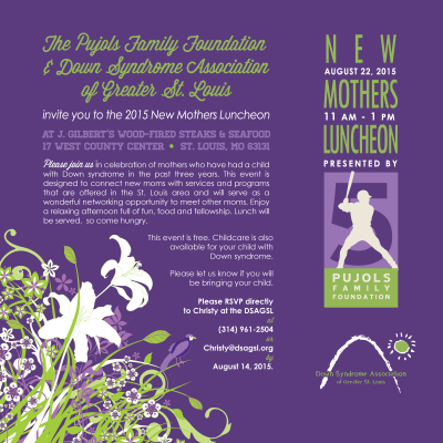2015 New Mothers Luncheon Invitation