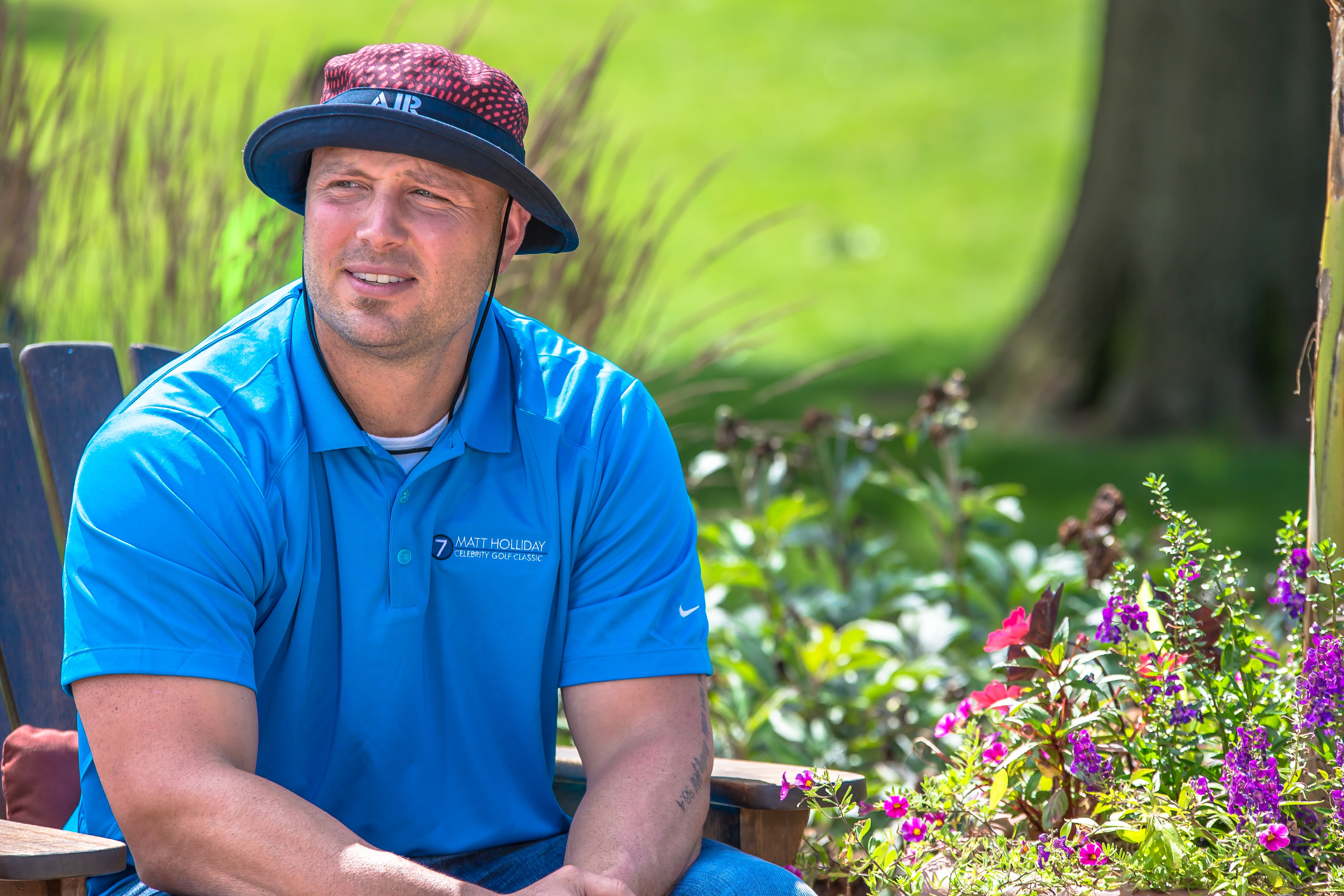 Matt Holliday 2015 Golf