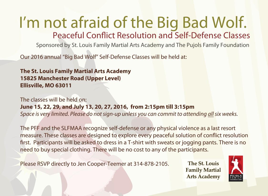 2016 Self Defense Invitation