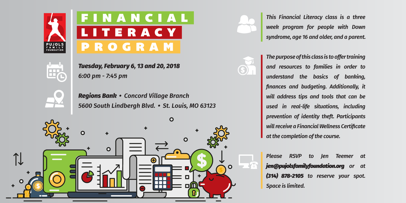 Financial Literacy Program St Louispujols Family Foundation